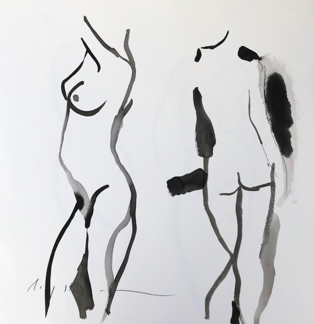 study, two figures, 1