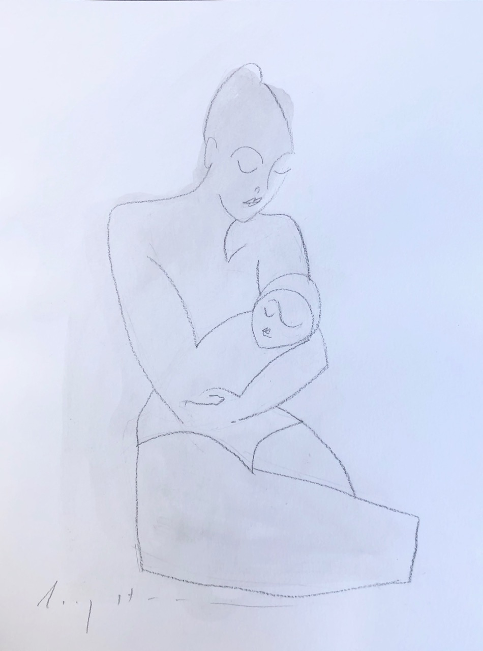 Mother and Child, study 1
